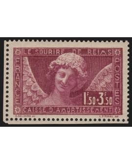 n°256, Sourire de Reims 1930, neuf ** sans charnière - TB