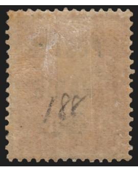 Préoblitérés n°30, Semeuse 5c orange POSTES PARIS 1922, neuf * avec charnière