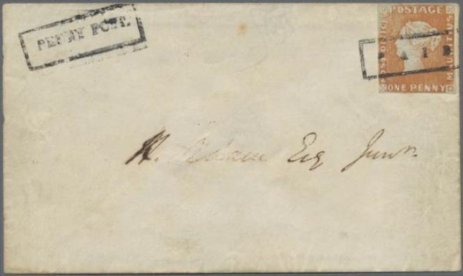 une lettre de 1847 de l'île Maurice a atteint le prix record de 8,1 millions d'euros