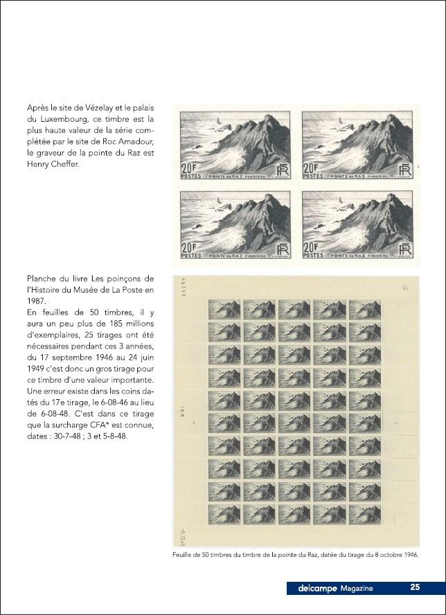 Beg ar Raz le timbre qui n'a pas fait de vagues
