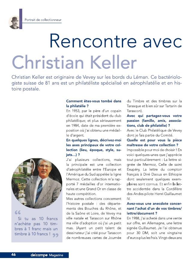 Rencontre avec un philatéliste : Christian Keller