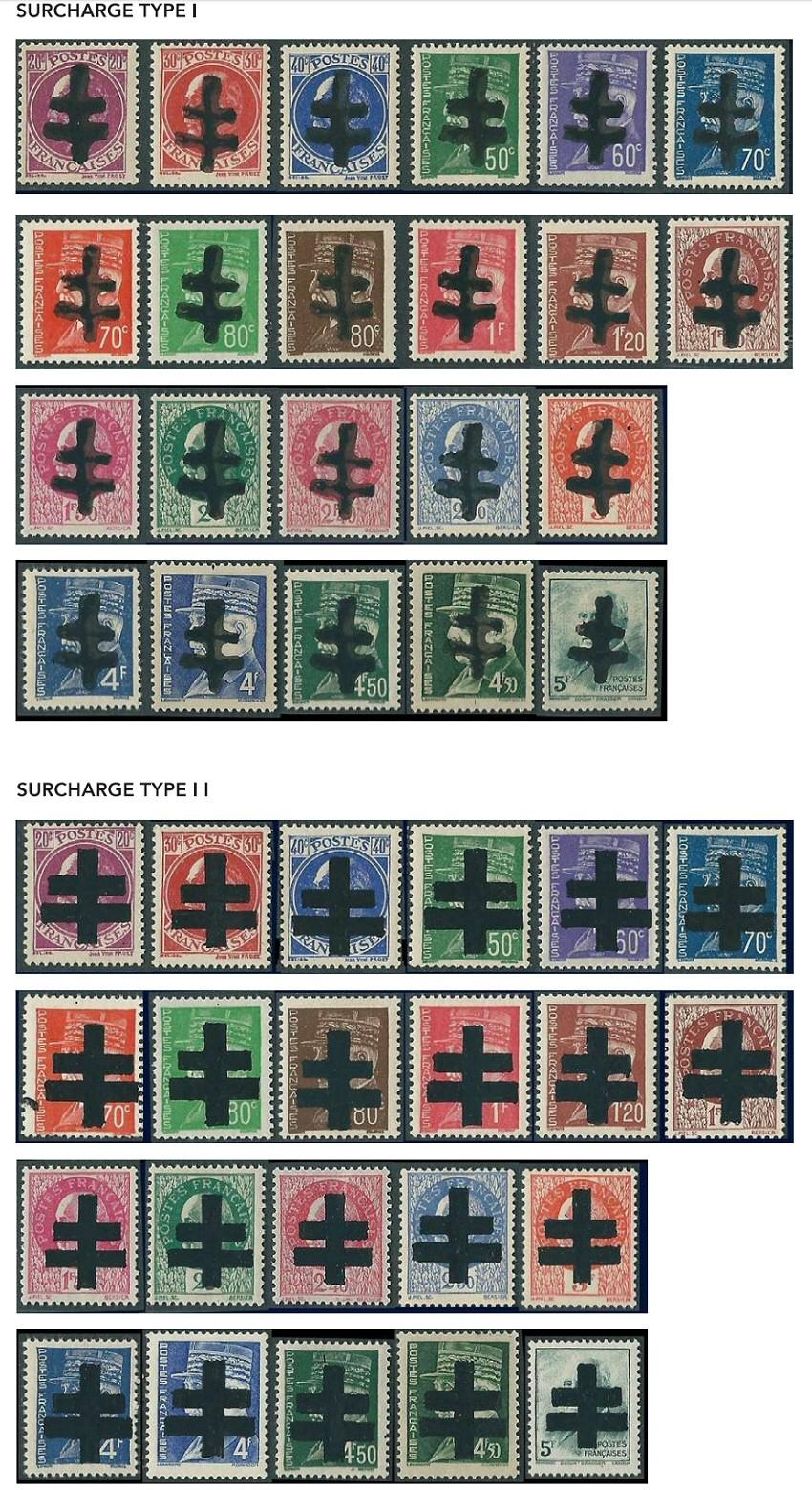 Émission des timbres de la libération d'Audierne