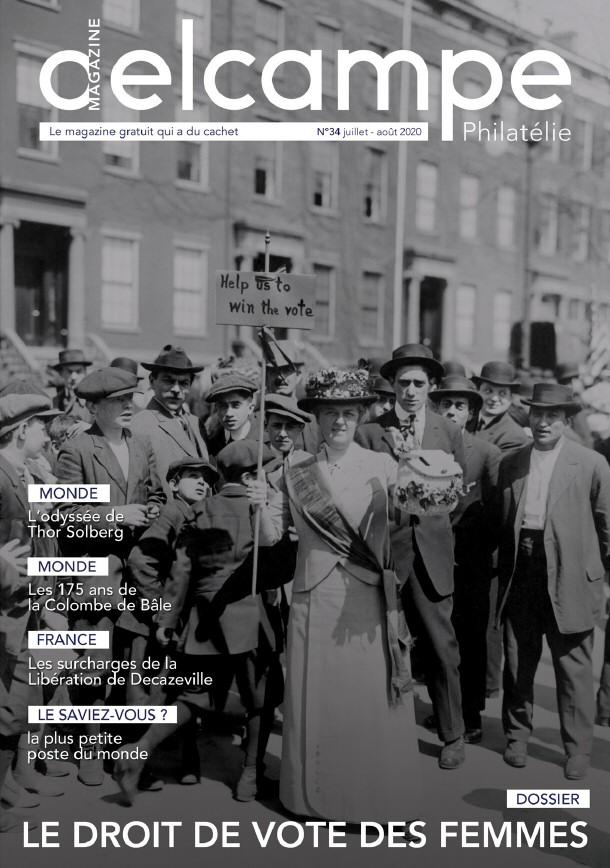 Delcampe Magazine n°34 - Juillet-Août 2020