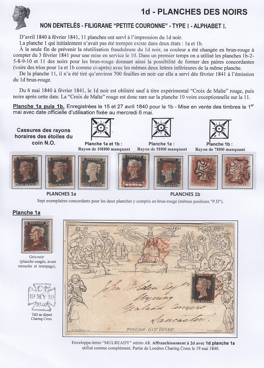 "Collection en ligne : ""Timbres de Grande Bretagne 1840-1879"""