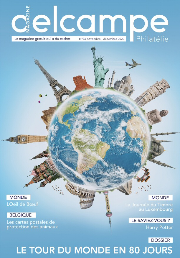 Delcampe Magazine n°36 - Novembre-Décembre 2020