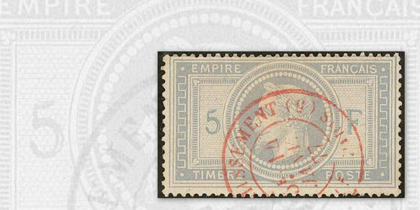 France n°33, 5 Francs Empire : Truquages, réparations et falsifications (JF.Brun)